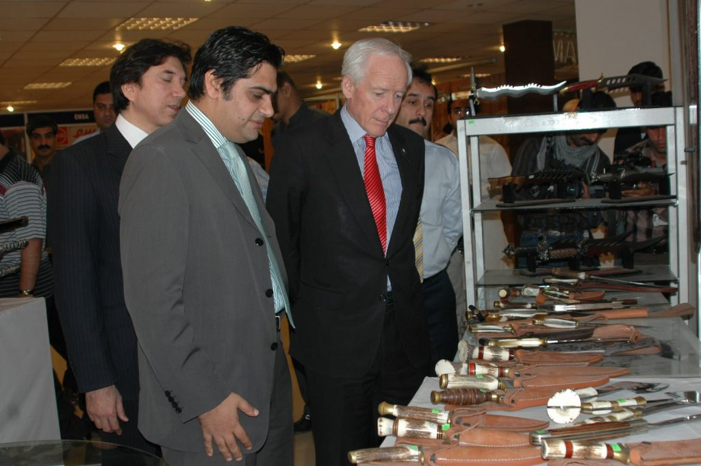 Australian High Comissioner visit Gujranwala Business Center